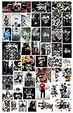 ZJJHX Stussy Car Motorcycle Trolley Case Cartoon Graffiti Tide Brand Travel Skateboard Guitarra Equipaje Pegatinas 47