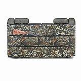 Bolsa de caza para rifle de camuflaje negro organizador para la mayoría de SUV, camiones, coche, asiento trasero, almacenamiento de armas de vehículos