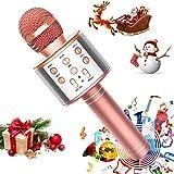 Best Home Karaoke Machines - FUKKUDA Karaoke Microphone for Kids, 3 in 1 Review