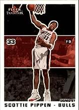 2003-04 Fleer Tradition #15 Scottie Pippen NBA Basketball Trading Card