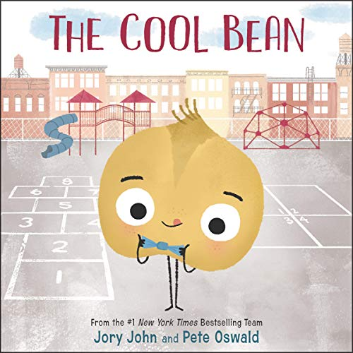 The Cool Bean audiobook cover art
