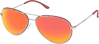 Police - S8299M58Q05R Gafas de sol, Rojo, 58 Unisex