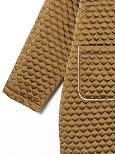 『[ビームスボーイ] コート キルティング チャイナ コート レディース キャメル Free Size』の1枚目の画像