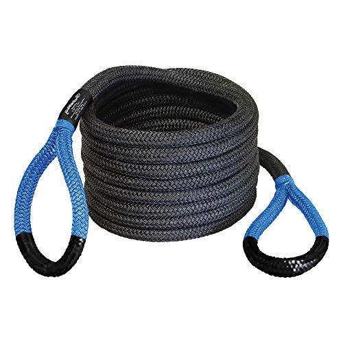 """Bubba Rope Power Stretch Recovery Rope, 7/8"""" x 20 ft. – Heavy-Duty Vehicle Recovery Rope: 28,600..."""