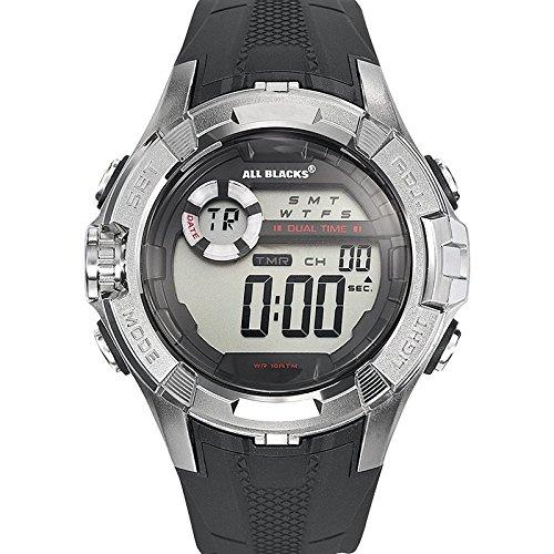 All Blacks Herren Digital Quarz Uhr 680233