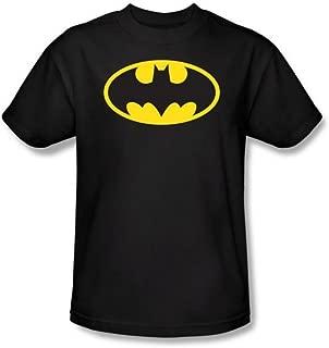 Batman Glow in the Dark Logo Men's T-Shirt, Large