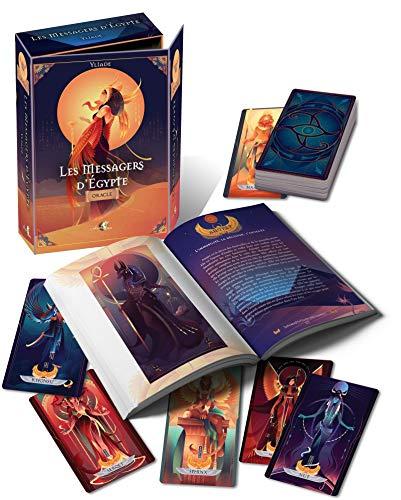 Le jeu de tarot divinatoire Les messagers d'Égypte
