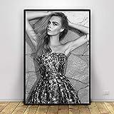 BBSJX Bilder,Poster,Cara Delevingne Kunstplakat
