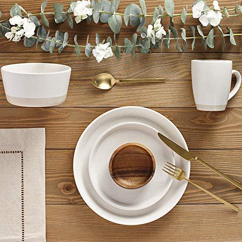 Safdie Premium Dinnerset Dinner set Premium Dinnerware Set, Cream