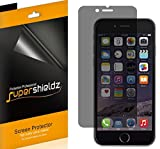 (2 Pack) Supershieldz (Privacy) Anti Spy Screen Protector Shield, 0.11mm, for Apple iPhone 6 (4…