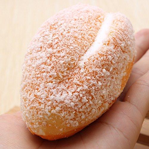 VIDOO 12Cm Weiches Brot Mit Kokos-Shred Telefon Riemen Dekoration
