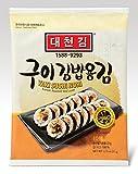 DAECHUN LAVER Sushi Nori, mare tostato (10 fogli interi) argento grado bag 22g