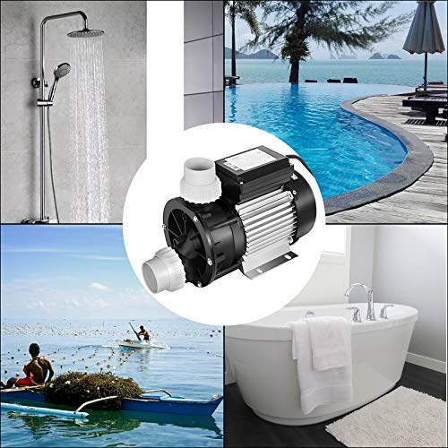 Happybuy Swimming Pool Pump 1hp 110v Hot Tub 0.75 Kw Water Circulation Spa Above GroundPool