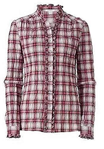 Karobluse blouse van Apart - crème/donkerrood