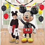 USLEH Mouse Airwalker 48' Inch Jumbo Foil Mylar Birthday Balloon