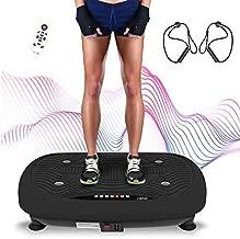 3D Vibrationsplatte LCD Ganzkörper Shaper Trainingsgerät 250W Vibrations Platte