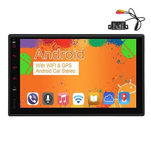 EINCAR 2 din Android 10,0 navigazione di GPS dell'automobile 7 pollici touch screen auto stereo con WiFi/GPS/AM/Bluetooth, 2021 macchina fotografica FM/RDS/Nuovo Doppio Din Autoradio 1080P H