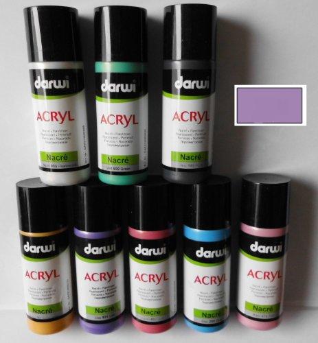 Darwi Acryl Nacre-Perlmutt 80 ml Lila 931