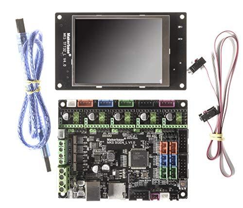 3D printer board MKS TFT32 Display + MKS SGen-L 32-bit controller compatible with Marlin2.0 and smoothie Upgrade of MKS Gen-L