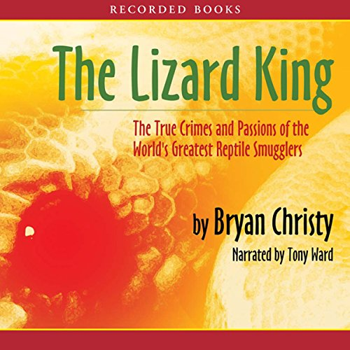 The Lizard King audiobook cover art