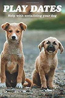 PLAY DATES: A Dog lovers Hidden in plain view Login-in and Password Journal with Fake book cover