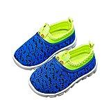 DEBAIJIA Zapatos para Niños 1-4T Bebés Caminan Zapatillas Suela Suave Malla...