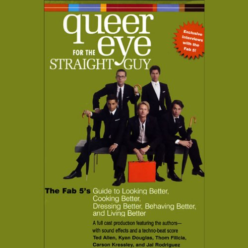 Queer Eye for the Straight Guy audiobook cover art