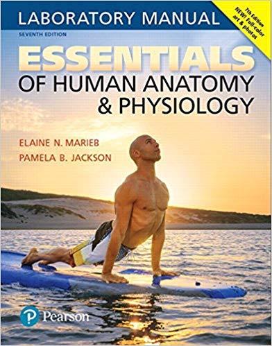 by Elaine N. Marieband Pamela B. Jackson - Essentials of Human Anatomy & Physiology Laboratory Manual (7th Edition) (Spiral-Bound) Pearson; 7 Edition (January 13, 2017) - [Bargain Books]