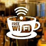 wall4stickers Etiqueta engomada Libre del Vinilo de la Muestra de Gráficos Cafetería Tienda Salón Bar Restaurante by