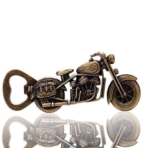 Motorrad Bieröffner,Legierung Vintage Bier Flaschenöffner,Motorrad Bier Flaschenöffner Zinklegierung Motorrad Flaschenöffner für Zuhause, Bar, Party, Trinken und Spiel