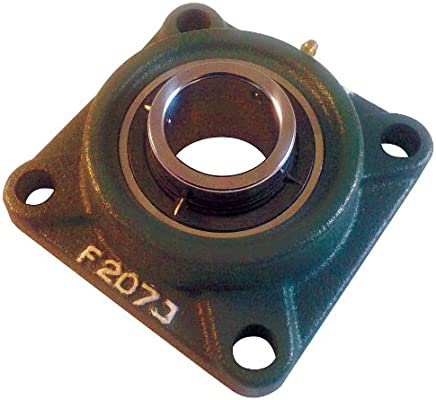 "Flange Bearing,4-Bolt,Ball,1/"" Bore DAYTON 1F546"