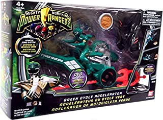 Power Rangers Mighty Morphin Green Cycle Accelerator
