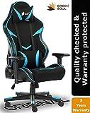 [Last Chance] GreenSoul Monster Series Premium Ergonomic Chair (GS-734) (Black & Blue) (Size - Large)