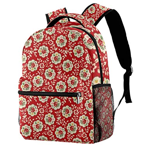12' School Backpack,Great for School, Casual Daypack Travel Outdoor Backpack for Boys and Girls(11.5x8x16 in),Geo