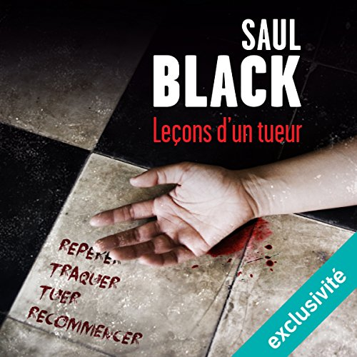Leçons d'un tueur audiobook cover art