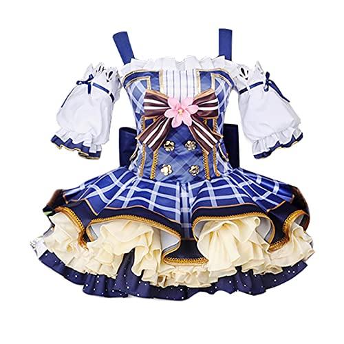 Oppinty Love Live Anime Bouquet Awakening Sonoda Umi disfraces de cosplay vestido de uniforme de mujer