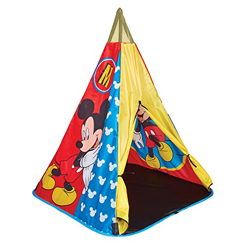Disney-150 Miy Mickey Mouse Tee Pee Play Tent, Colore Blue, 150MIY