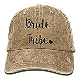Bride Tribe Denim Baseball Caps Hat Adjustable Cotton Sport Strap Cap For Men...