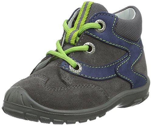 Superfit Baby Jungen SOFTTIPPO 700324 Sneaker, Grau (STONE KOMBI 06), 19 EU