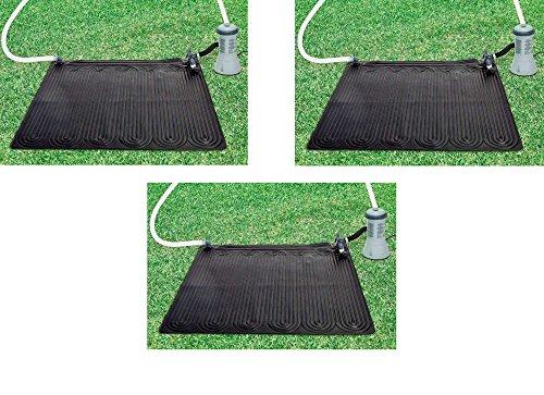 Oferta panel solar de 3 paneles temperatura piscina Intex 28685 Calentador de agua