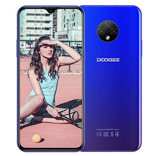 DOOGEE X95 (2020) Smartphone Offerta 4G - 6,52 pollici Android 10 2 GB RAM + 16GB ROM, 128 GB 4350 mAh Batteria 13 MP + 5 MP Doppia fotocamera Dual SIM Telefono cellulare Blu