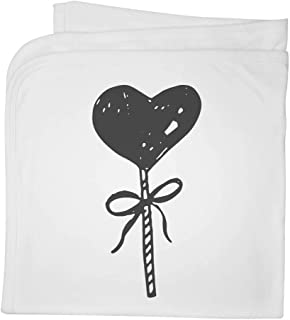 'Heart Lollipop' Cotton Baby Blanket / Shawl (BY00006103)