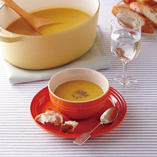 ル・クルーゼ(LeCreuset)茶碗ライスボールオレンジ耐熱耐冷電子レンジオーブン対応【日本正規販売品】