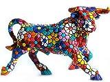 Figura Toro Flores en Mosaico de la Colección Trencadis Antonio Gaudí