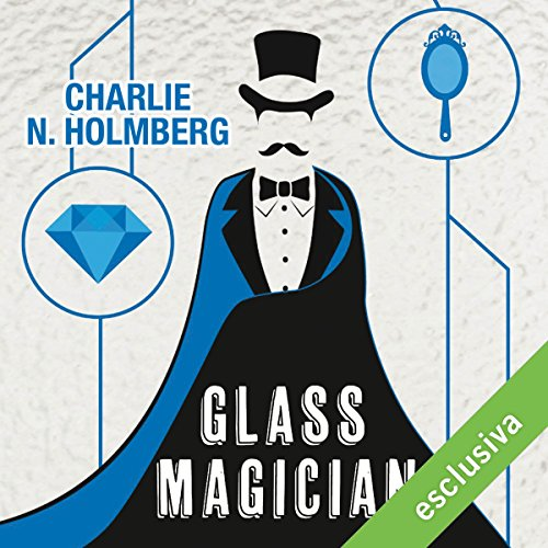 Glass Magician audiobook cover art