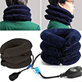 Inflatable Cervical Neck Traction Device & Collar Brace, Best for Neck Support