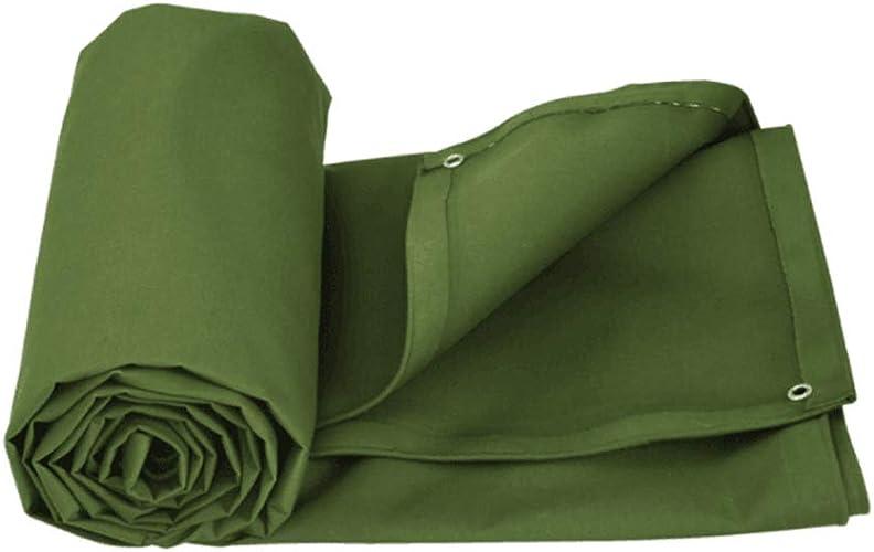 YJYFSB Tissu antipluie, bache extérieure rembourrée Verte Militaire imperméable rembourrée de Prougeection Solaire, Multi-Taille