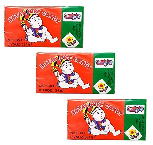 Botan Rice Candy .75 oz each (3 Items Per Order)