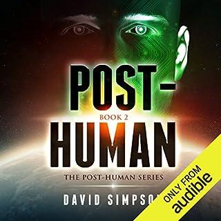 Post-Human audiobook cover art