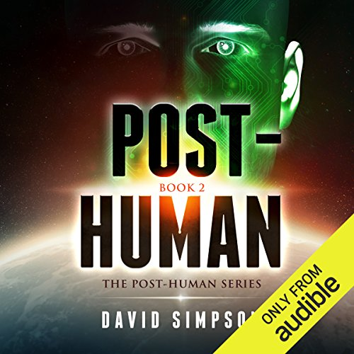 Post-Human audiobook cover art